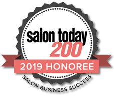 Luxe Salon 200 Award 2019