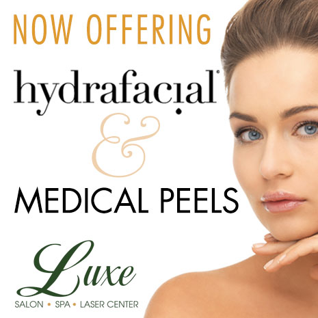 Now Offering hydrafacial & Medical Peels – BOOK NOW!